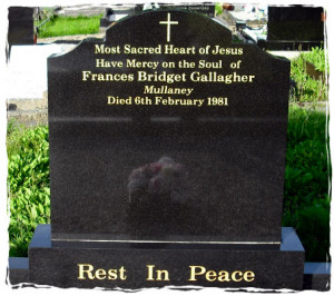 inscriptions for headstone on grave