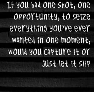 Eminem - Lose Yourself - song lyrics