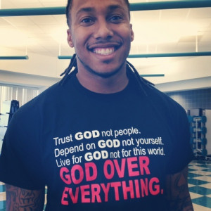 Trent Shelton - his Facebook devotionals keep me motivated and going ...