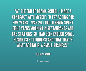 school end quotes source http quoteko com quotes about drama with ...