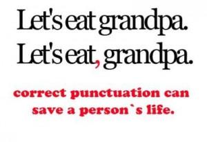funny grandpa haha lol punctuation quotes