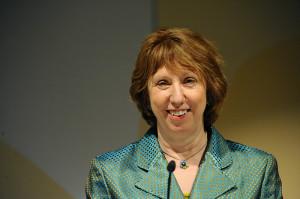 Catherine Ashton 1re vice pr sidente de la Commission europ enne