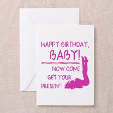 Sexy Birthday Gift For Men Greeting Card for