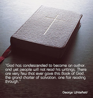 Anglo-Reformed Evangelist: George Whitefield: Quote of the Day