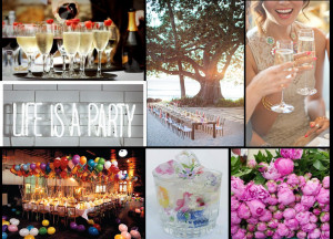 photos outdoor party champagne life is a party sparkle wildflower ice ...