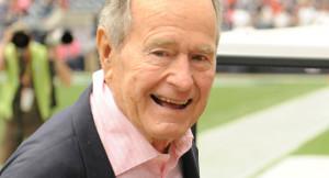 George H. W. Bush é hospitalizado em Houston