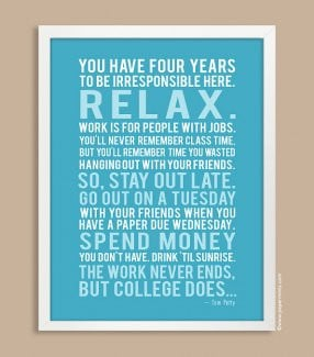 ... Quote Print in Aqua, Tom Petty {custom colors & quote / lyrics
