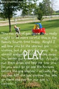 Lots of Quotes about the importance of play! www.HowWeeLearn.com