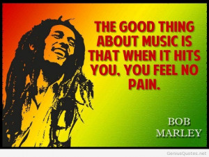 Bob Marley awesome life quote