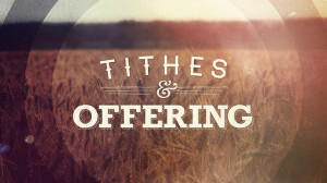 tithes-offering