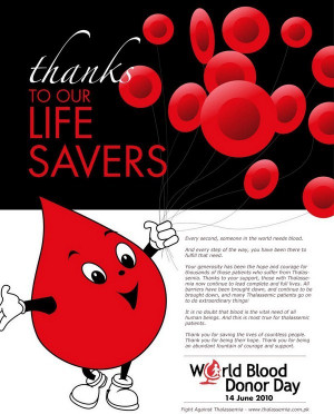 World Blood Donor Day Quotes pictures