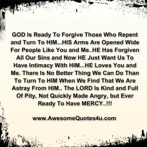 god forgive me quotes