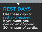 Fitness Rest Day
