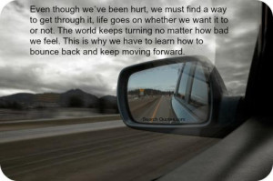... turning no matter how bad we feel. This is why we have to learn how to