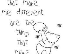 cute, pooh, quote