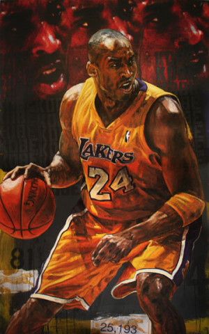 stephen holland kobe bryant lakers basketball sports
