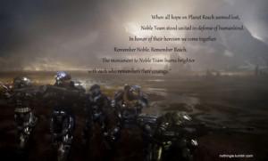 Halo Reach Quotes