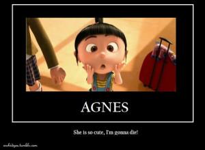 Despicable Me. Agnes!