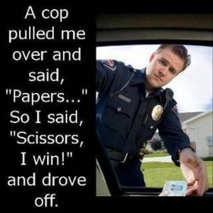 funny cop