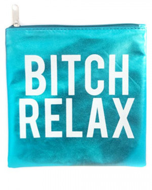 Married to the Mob RELAX POUCH at ShopJeen
