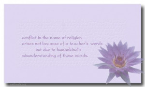 Religion quotes conflict in the name of religion quotes buddhist ...