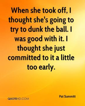 Pat Summitt Quotes On Leadership