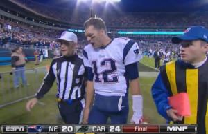 Patriots QB Tom Brady Drops F-Bomb After Controversial 'Monday Night ...