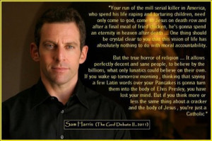 Tagged: atheism Sam Harris quotes think atheist godless religion