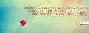 Second Chances Profile Facebook Covers