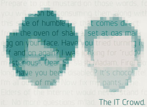 IT Crowd quotes