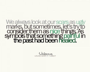 quotes about scars - Google Images
