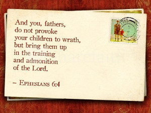 Fathers Day Bible Verse Wallpaper Greeting Card