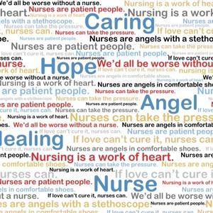 ... Designers / Windham / Calling All Nurses / Nursing Quotes in Multi