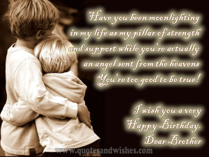 happy birthday brother Beautiful Happy Birthday Wishes and messages ...