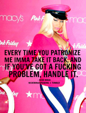 ... nicki nicki minaj nicki minaj quotes swag dope ymcmb young money love