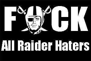 special message to Raider Haters.