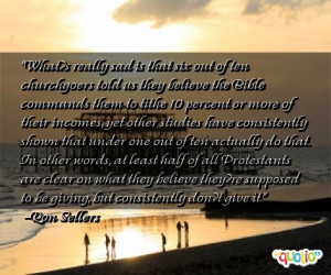 Tithe Quotes