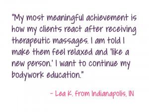 Massage Therapist Job Description