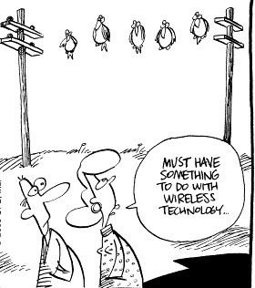 Wireless Technology Funny Picture