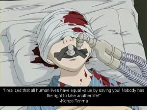 kenzo tenma #naoki urasawa's monster #naoki urasawa #anime quotes