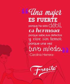 Carolina Herrera. More