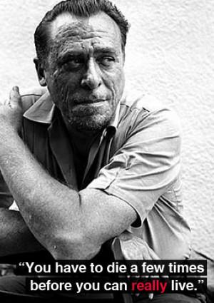 Charles Bukowski Quote Death