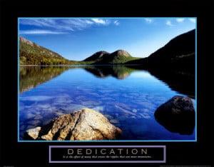 Dedications.....