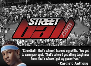 Carmelo Anthony Basketball Quote -