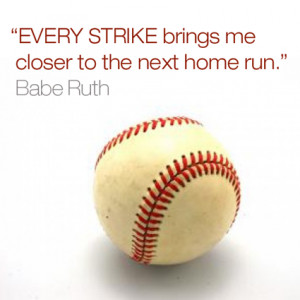 Inspirational Babe Ruth quotes for business leaders