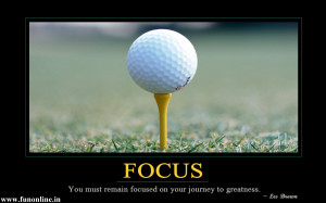 Top Success Quote for Flawless Concentration