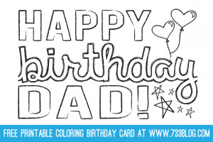 FOR DAD'S: