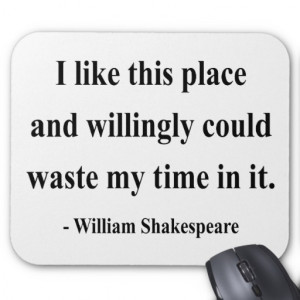 Shakespeare Quote 6a Mouse Pads