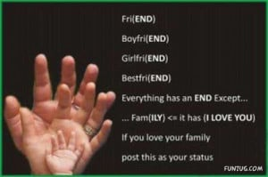 Always Love Your Family