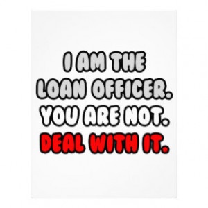 Deal With It ... Funny Loan Officer Letterhead Template